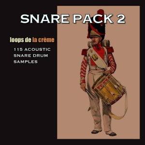 Loops de la Creme Snare Pack 2