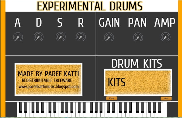 Paree Katti Experimental Drums