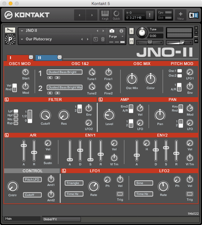 Particle Sound JNO II Layer 1