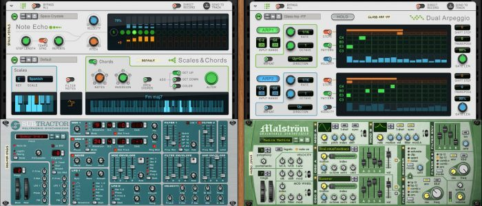 Propellerhead Reason 9 players