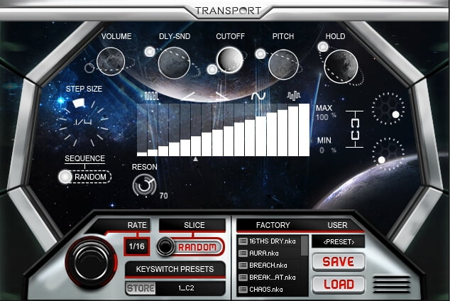 Refraction Audio Transport 01
