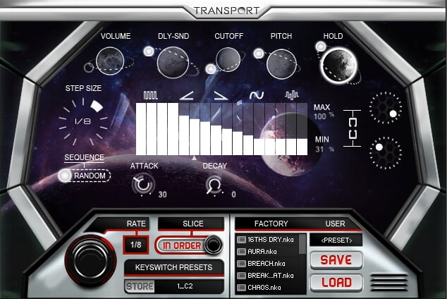 Refraction Audio Transport 03
