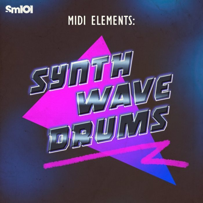 Sample Magic MIDI Elements Synthwave Drums