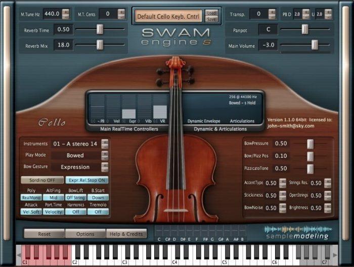 Samplemodeling The Cello