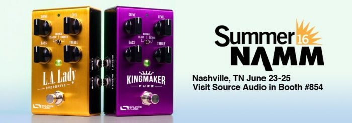 Source Audio Summer NAMM