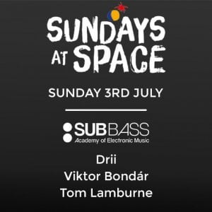 SubBass Sundays at Space