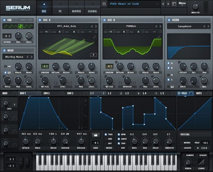 Xfer Records Serum
