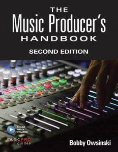 Hal Leonard Bobby Owsinski The Music Producer's Handbook Second Edition