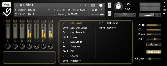 Light & Sound Chamber Strings 1.5