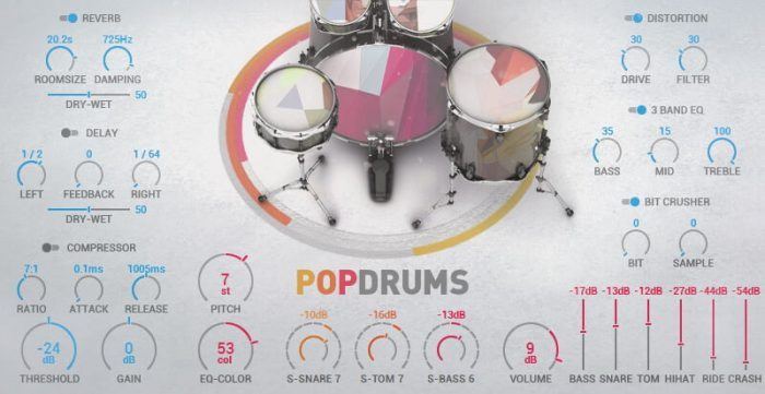 Magix Music Maker Pop_Drums_RGB