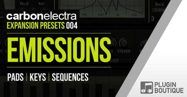 Plugin Boutique Emissions Carbon Electra expansion