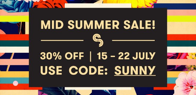 Sample Magic Mid-Summer Sale