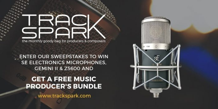 Track Spark sweepstakes