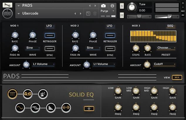 Umlaut Audio Pads modulation