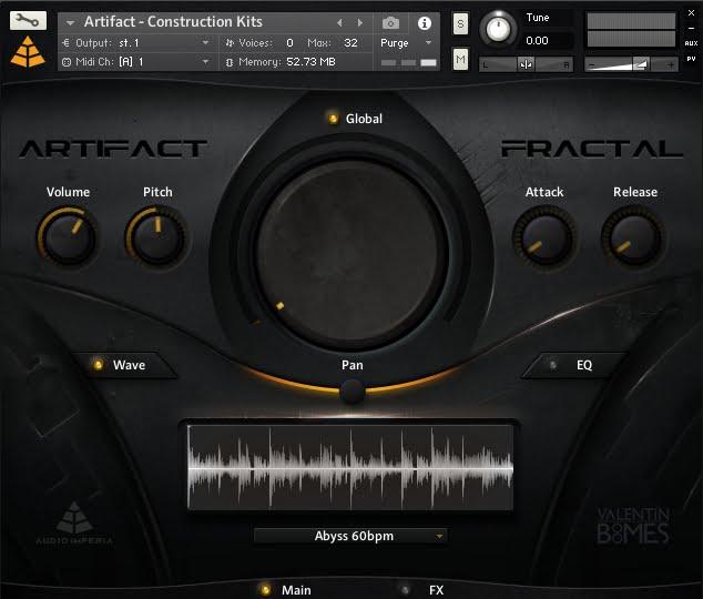Audio Imperia Artifact - Fractal 01