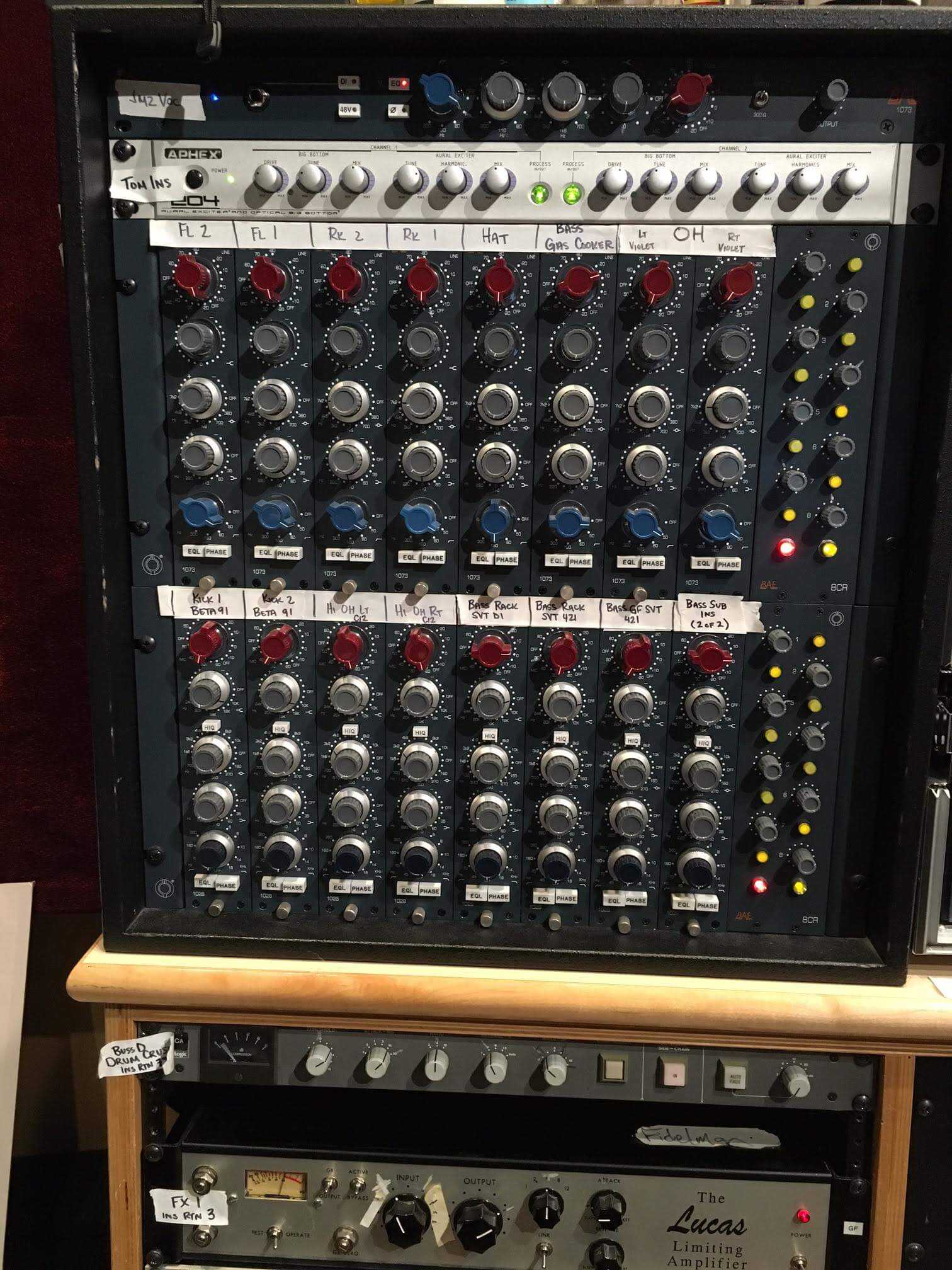 greg fidelman turns to bae 1073 1028 preamps
