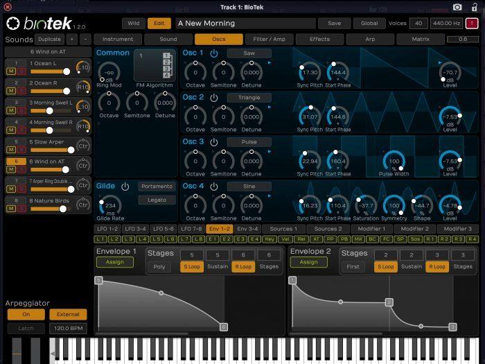 Biotek Sound Desinger Edition oscs
