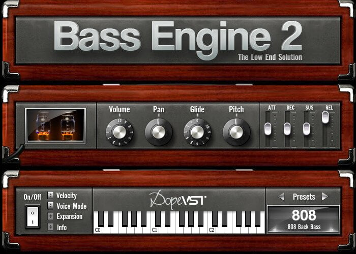 DopeVST Bass Engine 2.0 screen