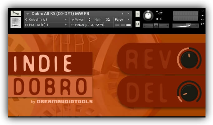 Dream Audio Tools Indie Dobro