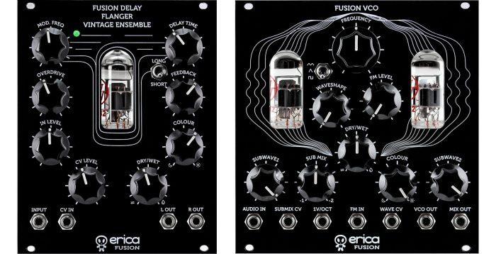 Erica Synths Fusion VCO & Delay Flanger Vintage Ensemble