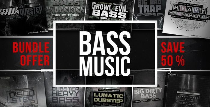 Famous Audio Bass Music Bundle