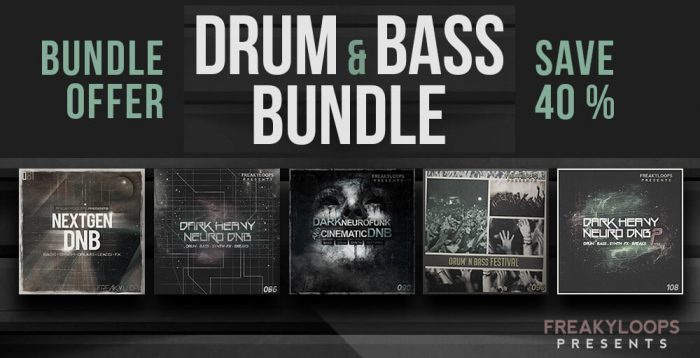 Freaky Loops Drum & Bass Bundle
