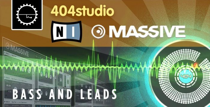 Industrial Strength 404 Studio Bass & Leads for Massive