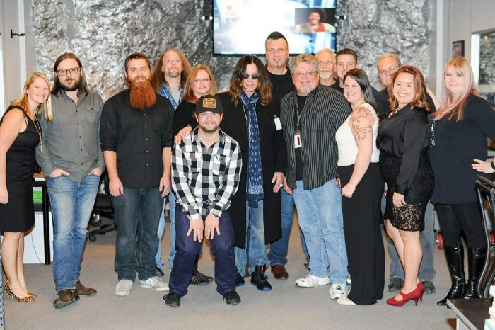 Ozzy and Jack Osbourne visit Iron Mountain's The Underground in Pennsylvania