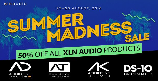 PIB XLN Audio Summer Sale