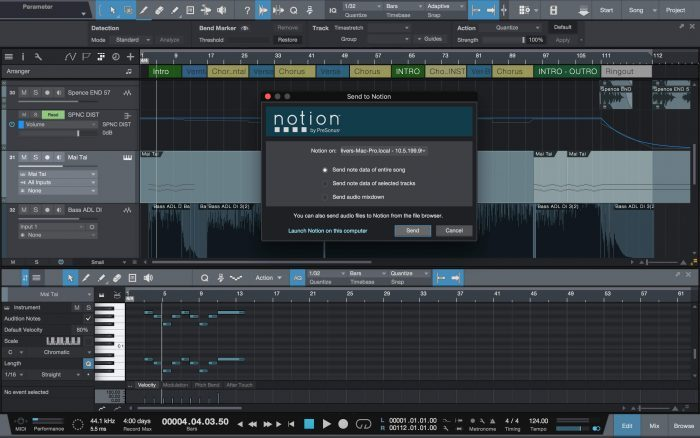 PreSonus Studio One 3.3