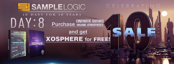 Sample Logic Cinematic Guitars Organic Atmospheres XOSPHERE