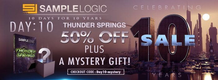 Sample Logic Thunder Springs 50 off + mystery gift