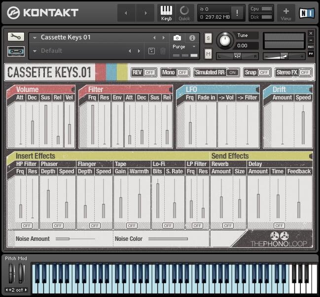 THEPHONOLOOP Cassette Keys.01