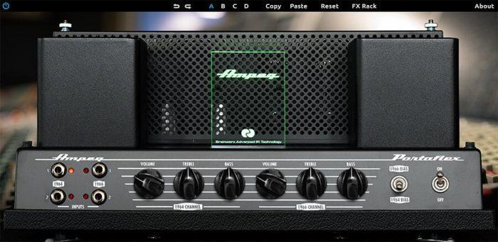 Universal Audio Ampeg B-15N Bass Amplifier