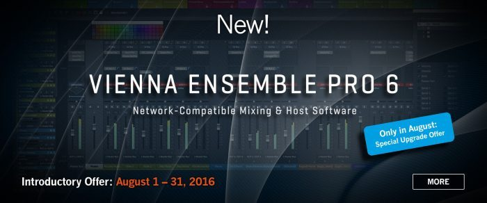 Vienna Ensemble Pro 6 Mixing And Host Software