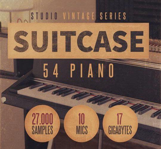 8Dio Studio Suitcase 54 Piano