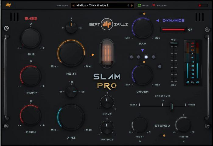 BeatSkillz Slam Pro bass phattener