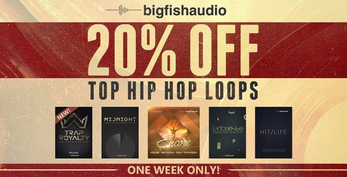 Big Fish Audio Hip Hop sale