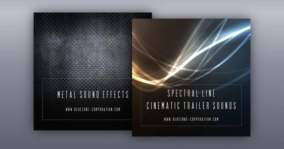 Bluezone Metal Sound Effects Spectral Line Cinematic Trailer Sounds