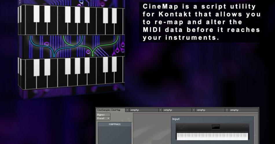 Cinesamples CineMap