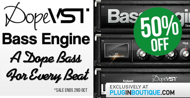 DopeVST Bass Engine 50 off