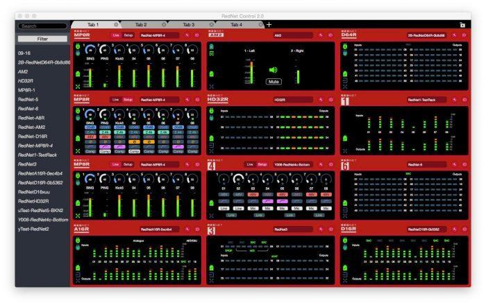 Focusrite RedNet Control 2.0