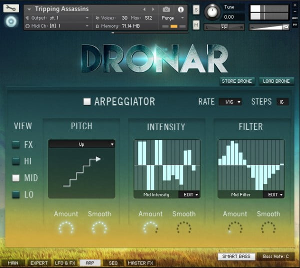 Gothic Instruments Dronar Guitarscapes arps