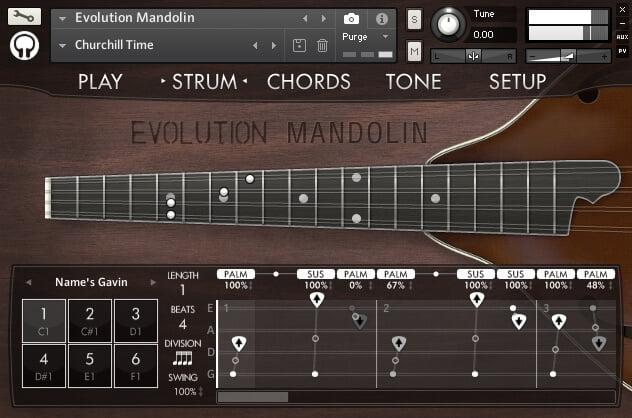 Orange Tree Samples Evolution Mandolin 2