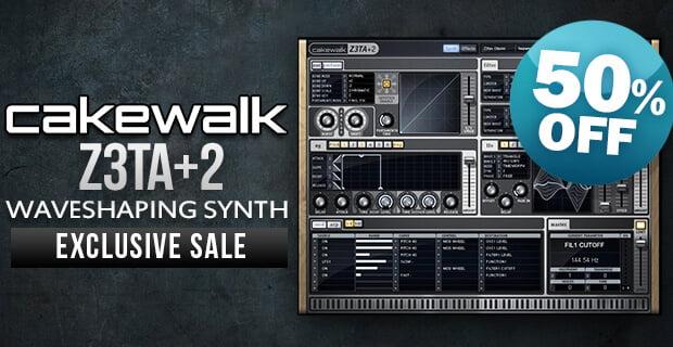 PIB Cakewalk Z3TA+ 2 sale