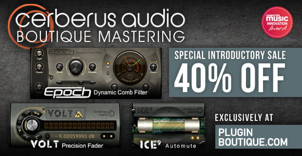 PIB Cerberus Audio intro sale
