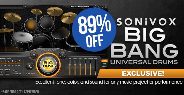 PIB Sonivox Big Bang Universal Drums sale