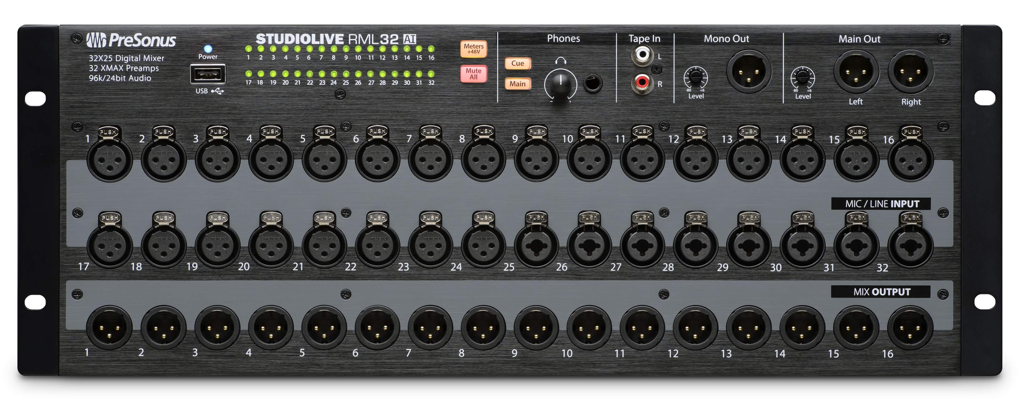 Presonus studiolive rml16ai rml32ai mixers shipping for Firewire mixer motorized faders