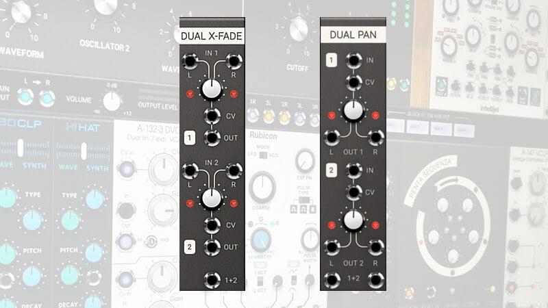 Softube Modular Dual X-Fade & Dual Pan