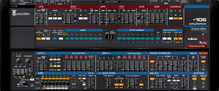 TubeOhm 106 Emulation group b